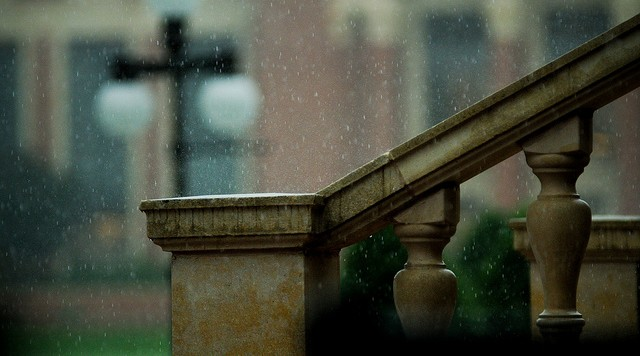 when it rains ...
