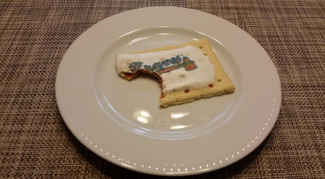 braves pop tart