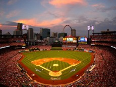 ST LOUIS, MO - OCTOBER 03:  A general view as the St. Louis Cardinals take on the Pittsburgh Pirates in Game One of the National League Division Series at Busch Stadium on October 3, 2013 in St Louis, Missouri.  (Photo by Dilip Vishwanat/Getty Images)
