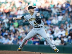 SEATTLE, WA - JUNE 29: Jameson Taillon #50 of the Pittsburgh Pirates delivers a pitch during a game against the Seattle Mariners at Safeco Field on June 29, 2016 in Seattle, Washington. The Pirates won the game 8-1. (Photo by Stephen Brashear/Getty Images)