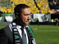 PORTLAND, OR - MARCH 6:  Head coach Caleb Porter of the Portland Timbers walks out onto the pitch before the game against the Columbus Crew at Providence Park on March 6, 2016 in Portland, Oregon. (Photo by Steve Dykes/Getty Images)