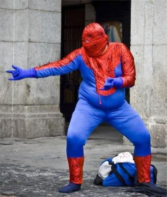 fat spiderman 2