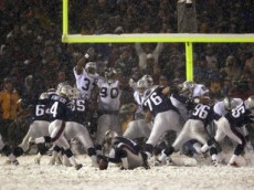 vinatieri snow kick