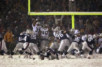 vinatieri snow kick