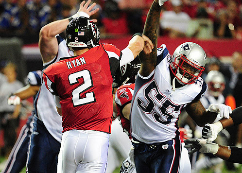brandon spikes matt ryan