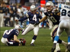 adam vinatieri Super Bowl XXXVIII