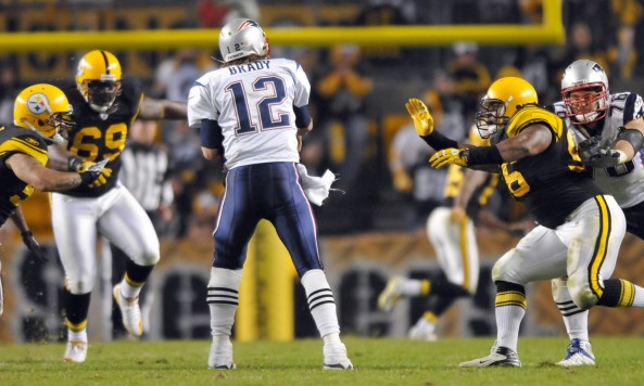 tom brady under center steelers