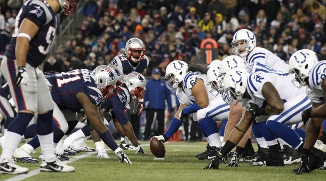 patriots colts snap