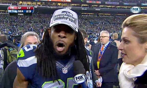 richard sherman postgame