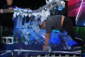 AGT Strong Man Ice Breaker