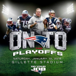 on to the playoffs patriots