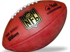 -!Official NFL Game Ball F1100 Wilson The Duke NFL Football--8810413