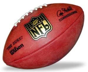 -!Official NFL Game Ball F1100 Wilson The Duke NFL Football--8810413
