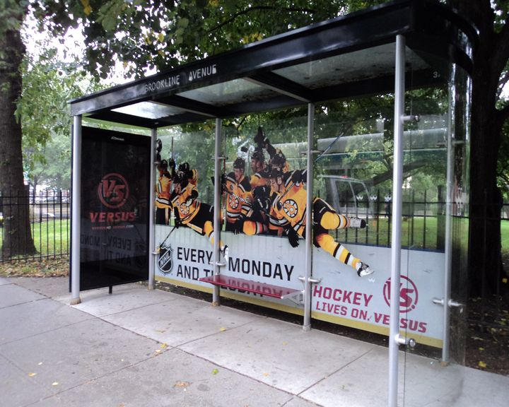 Boston Bruins VERSUS ad Brookline Ave