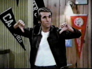 The Fonz has spoken