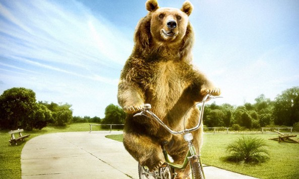 Cycling_Happy_Bear_by_NooA