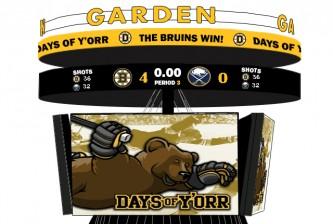 Bruins Sabres Scoreboard