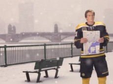 Loui Bruins Snow