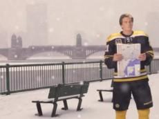 Loui Bruins Snow