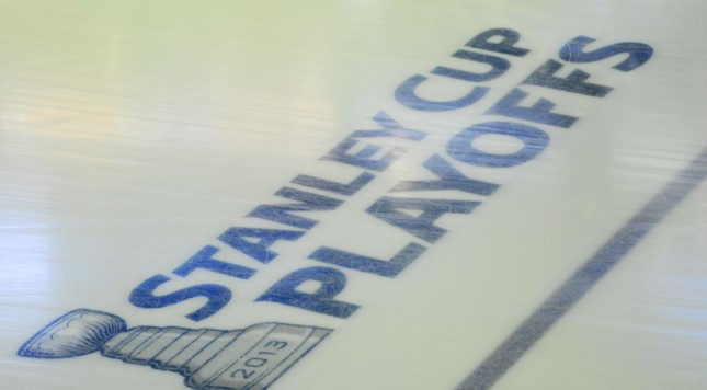 Stanley Cup Playoffs Ice Logo