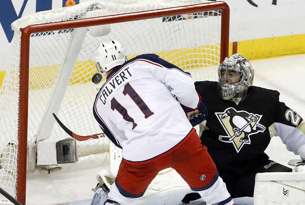 NHL: Stanley Cup Playoffs-Columbus Blue Jackets at Pittsburgh Penguins