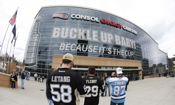 Consol Energy Center 2014 Playoffs
