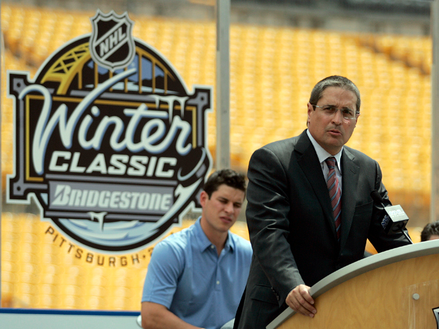 2011 Bridgestone NHL Winter Classic Press Conference