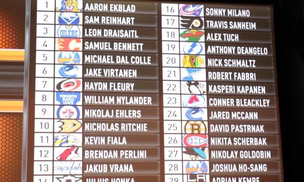 NHL: 2014 NHL Draft