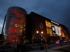 NEWARK, NJ - OCTOBER 23:  A general view of the Prudential Center prior to the game between the Buffalo Sabres and the New Jersey Devils on October 23, 2010 at the Prudential Center in Newark, New Jersey. Sabres defeat the Devils 6-1. (Photo by Mike Stobe/Getty Images)