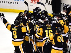in Game Seven of the Eastern Conference Final during the 2016 NHL Stanley Cup Playoffs at Consol Energy Center on May 26, 2016 in Pittsburgh, Pennsylvania.