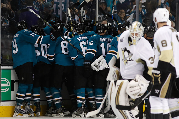 in Game Three of the 2016 NHL Stanley Cup Final at SAP Center on June 4, 2016 in San Jose, California.