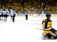 in Game Five of the 2016 NHL Stanley Cup Final at Consol Energy Center on June 9, 2016 in Pittsburgh, Pennsylvania.