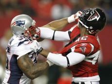 Eric+Brock+New+England+Patriots+v+Atlanta