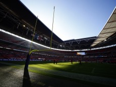 LONDON, ENGLAND - NOVEMBER 01: Sunlight bursts through the stadium prior to kick off during the NFL game between Kansas City Chiefs and Detroit Lions at Wembley Stadium on November 01, 2015 in London, England. (Photo by Alan Crowhurst/Getty Images)