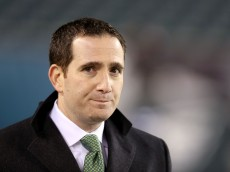 PHILADELPHIA, PA - DECEMBER 14: Howie Roseman general manager of the Philadelphia Eagles looks on prior to the game against the Dallas Cowboys at Lincoln Financial Field on December 14, 2014 in Philadelphia, Pennsylvania.  (Photo by Mitchell Leff/Getty Images)