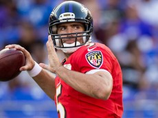 """Yes, Joe Flacco """"develops"""" the best potential of young wide receivers around him---- but sooner or later, you've got to give him a Dez Bryant--- or something close!"""