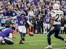 The Baltimore Ravens defeated the San Diego Chargers by a score of 26-23 at M&T Bank Stadium in Baltimore, MD on November 1, 2015. Photo by Shawn Hubbard
