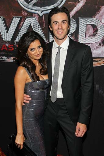 Nureen-Dewulf-With-Ryan-Miller