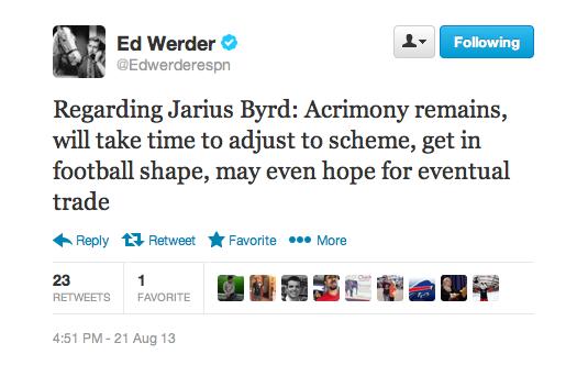 Werder Tweet