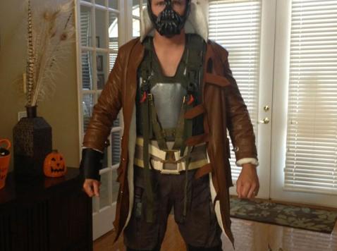 Josh Scobee Halloween
