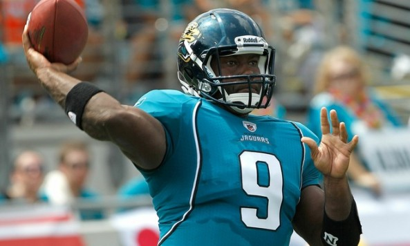 David Garrard Throwing Motion