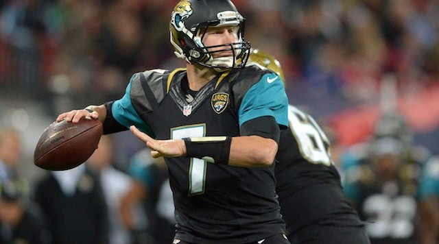 Chad Henne Throwing Jaguars 2013