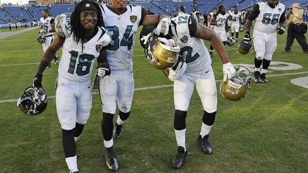Jaguars Win 2013