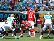 Alex Smith Chiefs vs Jaguars