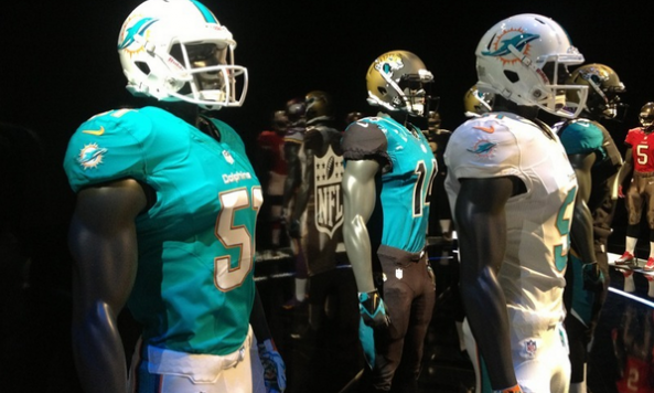 Dolphins new jerseys