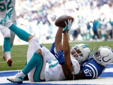 Brent Grimes INT vs Colts