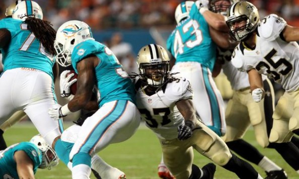 Saints vs Dolphins preseason