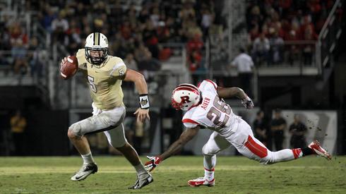 NCAA Football: Rutgers at Central Florida