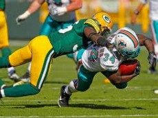 Dolphins and Packers