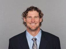 MIAMI, FL - CIRCA 2011: In this handout image provided by the NFL, Dan Campbell of the Miami Dolphins poses for his NFL headshot circa 2011 in Miami, Florida. (Photo by NFL via Getty Images)